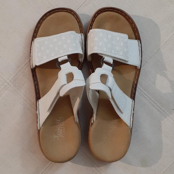 RIEKER White Sandals